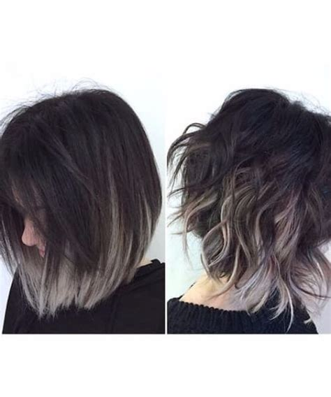 superbly diverse short hair ombre ideas   hairstyles