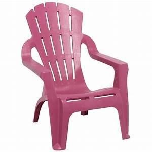 Fauteuil Relax Jardin : fauteuil de jardin plastique rose table chaise salon ~ Nature-et-papiers.com Idées de Décoration