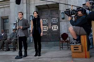 Behind the Scenes Photos from The Hunger Games: Catching Fire