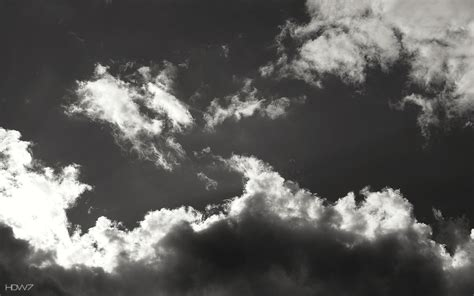black  white cloud wallpaper gallery