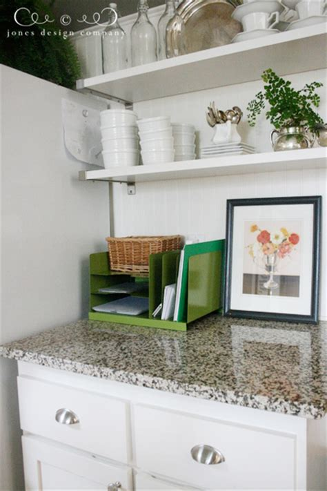 kitchen countertop storage solutions solution to kitchen counter clutter jones design company 4313