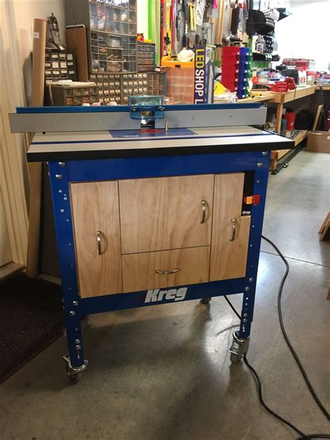kreg router table plans kreg router table cabinet from kreg plans with