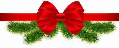 Ribbon Transparent Christmas Clipart Merry Frame Nativity