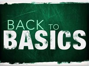 Back To Basics When Creating Content