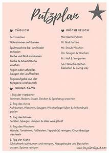 Haushalt Organisieren Plan Vorlage : putzplan ja wir haben einen putzplan f r uns berlebenswichtig ~ Buech-reservation.com Haus und Dekorationen