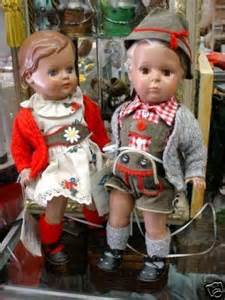 German Dolls Boy and Girl