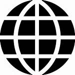 Icon Globe Svg Web Earth Icons Transparent
