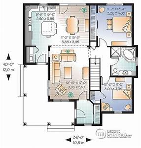plan de maison 2 chambres plan maison m chambres with With good plan maison avec patio 7 maison plain pied 2 chambres plans amp maisons