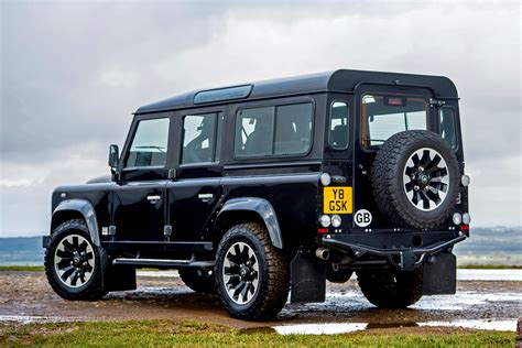 land rover defender 110 station wagon review parkers