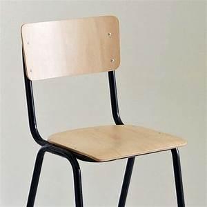 Chaise D école : chaises d 39 cole cherche int rieur tendance c t maison ~ Teatrodelosmanantiales.com Idées de Décoration
