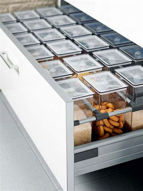Cupboard Organizers Ikea by Place Same Sized Canisters In Rows In A Drawer For