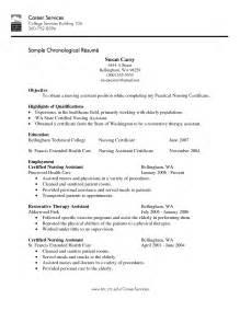 sle of resume for graduate application career objective for nursing