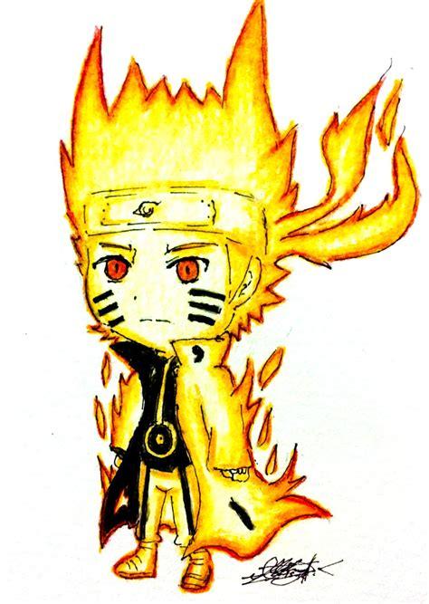 Anime Chibi Naruto Nine Tails Hd Wallpaper Gallery