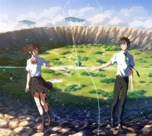 4526887, Anime, Miyamizu, Mitsuha, Kimi, No, Na, Wa, Tachibana, Taki, Wallpaper