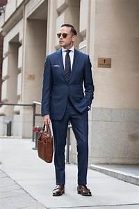 Blauer Anzug Schwarze Krawatte : 1001 ideen wie blauer anzug braune schuhe und passende accessoires kombiniert werden ~ Frokenaadalensverden.com Haus und Dekorationen