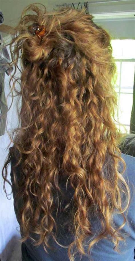 peinados rizados totalmente elegantes  hermosos largo