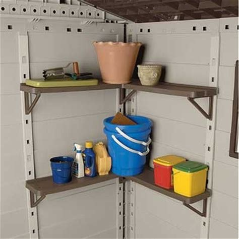 Suncast Shed Shelf Brackets by Garage Organizers Garage Organization Garage Storage