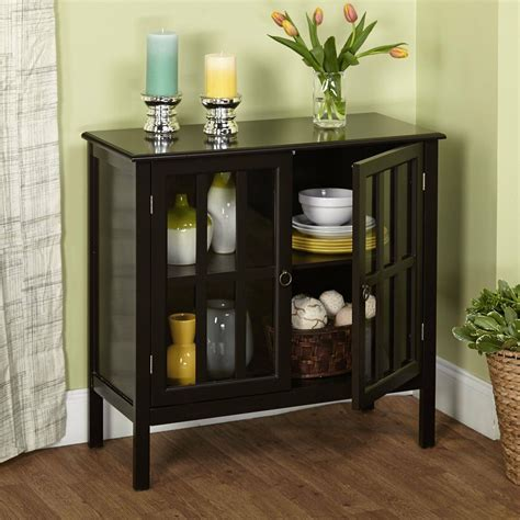 modern storage cabinet black sideboard buffet cupboard