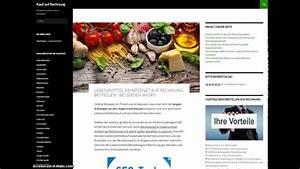 Auf Rechnung Shoppen : wo lebensmittel auf rechnung online kaufen bestellen ~ Themetempest.com Abrechnung