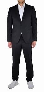 Herren Anzug Modern : slim fit moderner herren anzug in schwarz jhu 1412 6765 kaufen bei michaelax fashion trade ~ Frokenaadalensverden.com Haus und Dekorationen