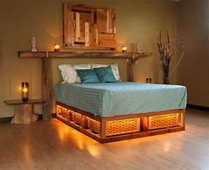 Lit Bed Up : light up bed my ultimate log cabin pinterest ~ Preciouscoupons.com Idées de Décoration