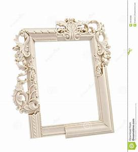 White Ornate Frame Royalty Free Stock Photo - Image: 36184385