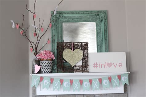 Valentines Mantel Home Decor With The Cricut Kids Printable Christmas Crafts Do It Yourself Ornaments Irish Good Clever 12 Days Of Burlap For Free Preschoolers