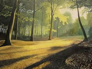 woodlands landscape surrey oil painting in guildford With outdoor lighting landscape surrey