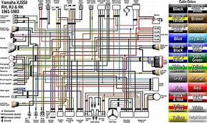 1981 Yamaha Xj550 Maxim Wiring Diagram