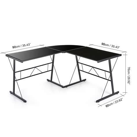 bureau verre noir bureau en verre trempe noir 28 images bureau
