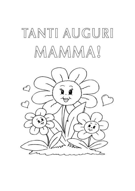 disegni per la mamma compleanno disegno da colorare per la mamma