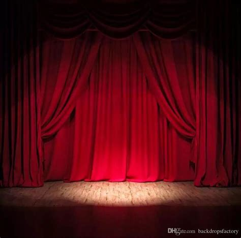 Background Stage Backdrop by 10x10ft Burgundy Color Curtain Stage Backdrop Design