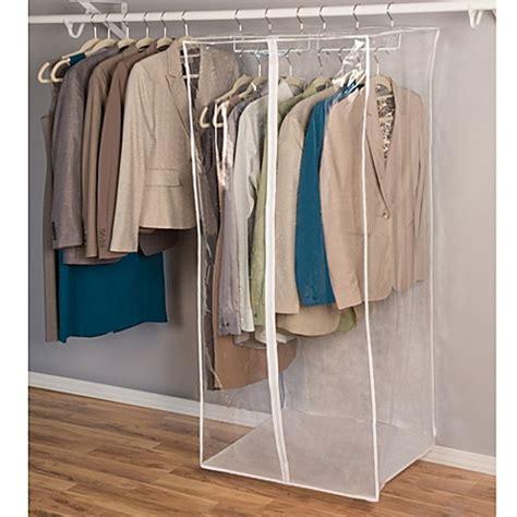 closetware clear jumbo dress bag bed bath beyond