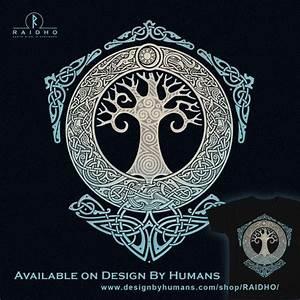 Symbole Mythologie Nordique : yggdrasil tree of life knotwork t shirt by raidho tatoo tatouage tatouage celtique et ~ Melissatoandfro.com Idées de Décoration