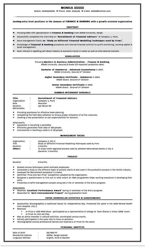 sle resume for freshers engineers pdf 28 images resume sle resume formats for freshers 28 images resume sle