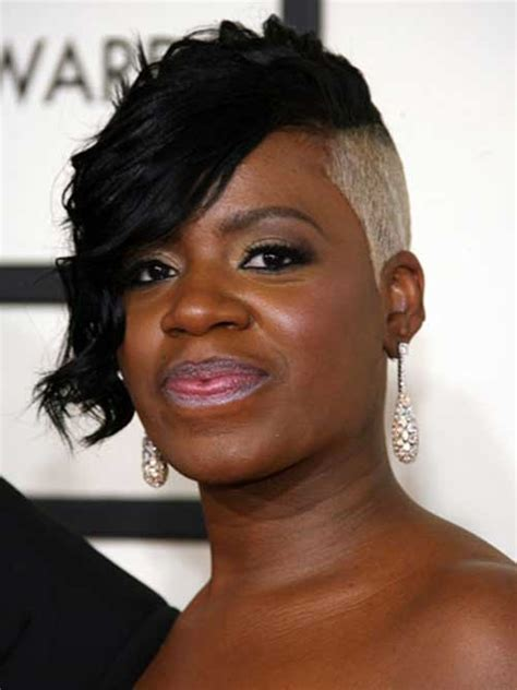 stylish short hairstyles  black women  short