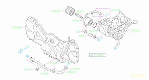 Subaru Tribeca Engine Oil Cooler Line  Pipe Oil Cooler