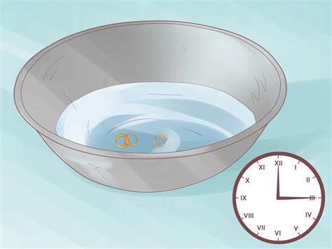 ways  clean gold jewelry wikihow