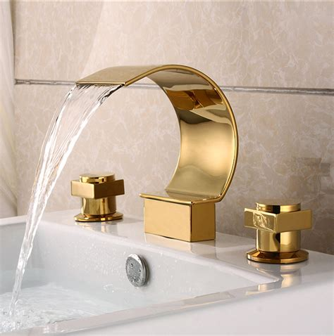 kitchen faucets review gold plated brass three sets of bathroom sink waterfall
