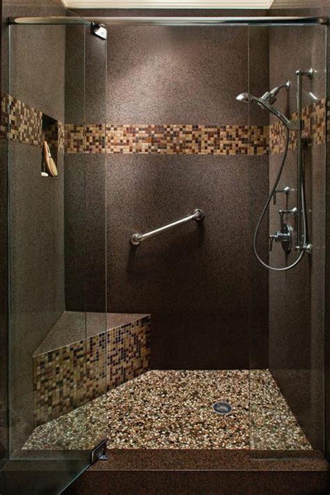 Fliesen Dusche Boden by Dusche Mit Mosaik Boden Wohn Design