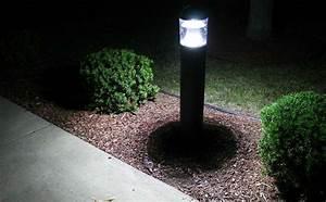 lbol2 walkway bollard lumecon With outdoor lighting fixtures walkways