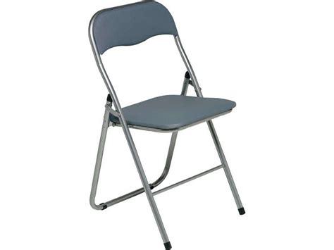 conforama chaise pliante chaise pliante alizee ii coloris gris chez conforama