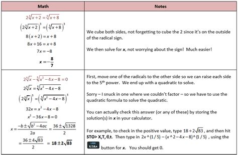 Radical Equation Review Worksheet Match Up Worksheets