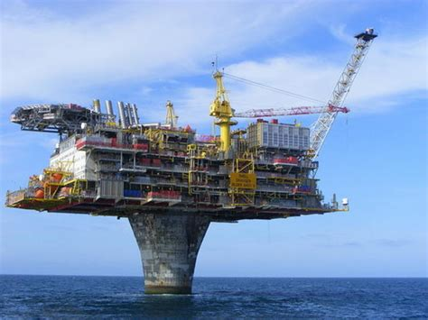 Norway's Draugen Oil Platform Is An Engineering Marvel