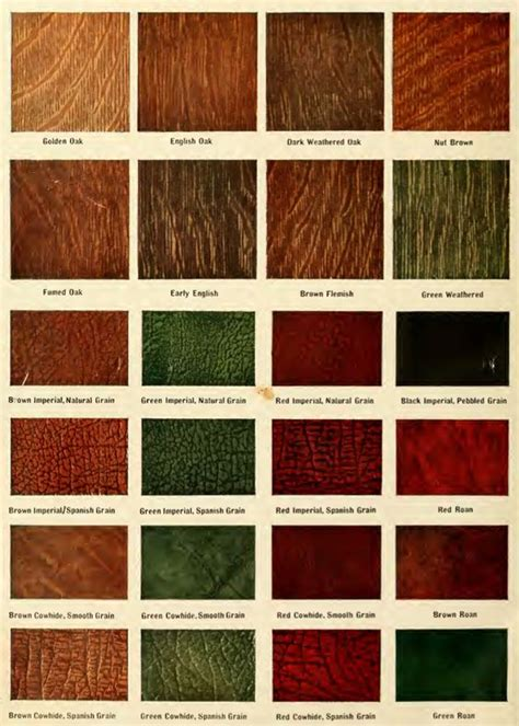 furniture stain colors stain colors and leather colors from the 1911 comepackt