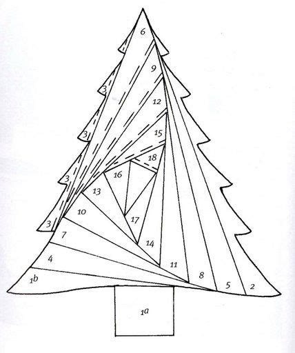 iris folding christmas tree by rubrique iris folding