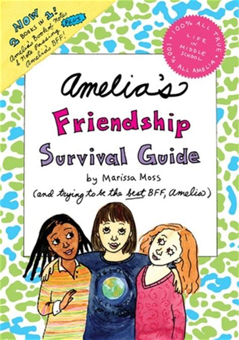 amelias friendship survival guide amelias book  notes note passing amelias bff
