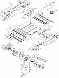 Dewalt Dw745 Parts List And Diagram