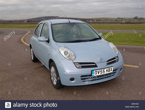 Nissan Small Car by Nissan Micra Small Car Mk4 Stock Photo Royalty Free Image