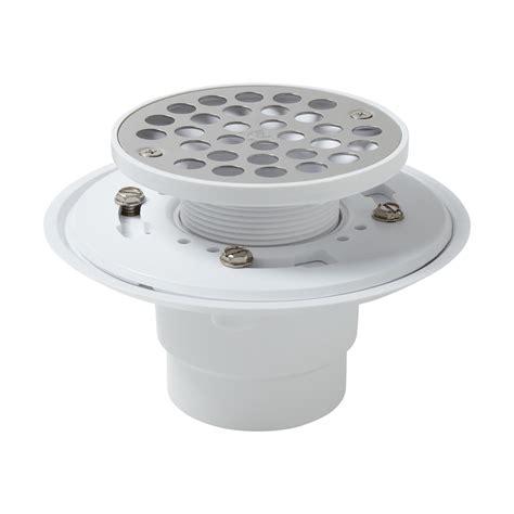 shower strainer pvc drain flange coupling with strainer bathroom